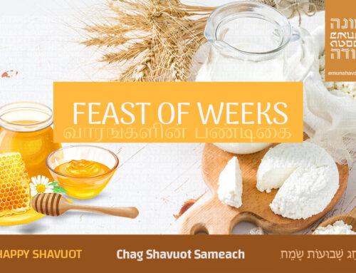 Shavuot / שָׁבוּעוֹת / ஷாவூவோத்